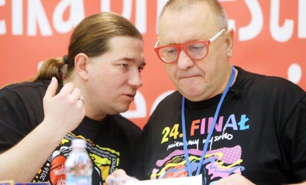 Jerzy Owsiak i Krzysztof Dobies. Źródło: wp.pl