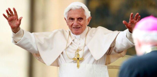 Papież Benedykt XVI / YouTube