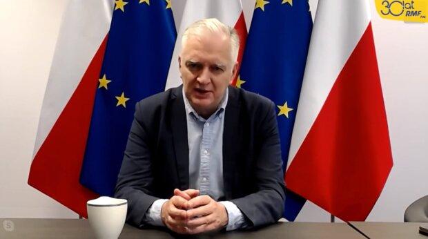 Jarosław Gowin. Źródło: Youtube Fakty RMF FM