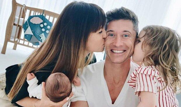 Rodzina Lewandowskich. Źródło: Instagram