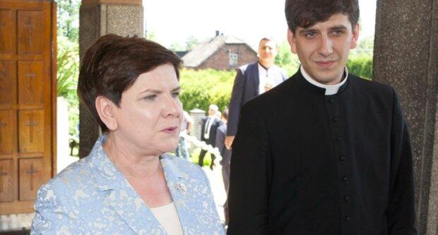 Beata Szydło z synem / aleteia.org