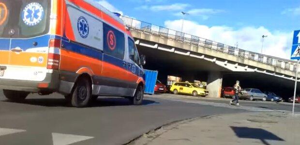 Mężczyzna z koronawirusem uciekł ze szpitala. Źródło: YouTube