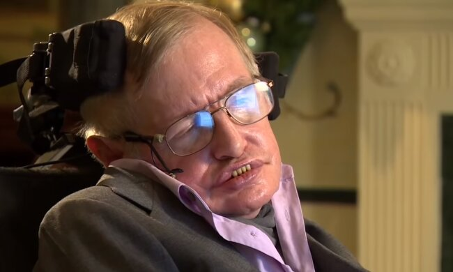 Stephen Hawking. Źródło: Youtube #Mentale Zuflucht