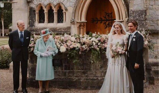 Królowa Elżbieta i księżniczka Beatrycze