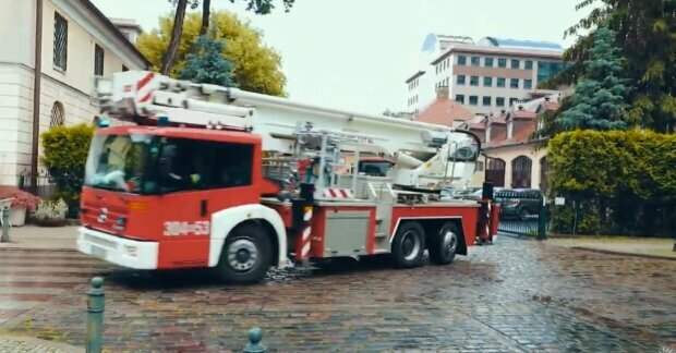 Straż pożarna/ screen YouTube