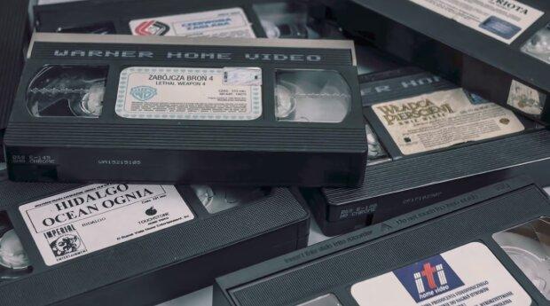 Kasety VHS. Źródło: Youtube Loading...