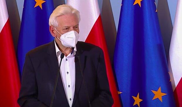 Profesor Andrzej Horban / YouTube:  Kancelaria Premiera