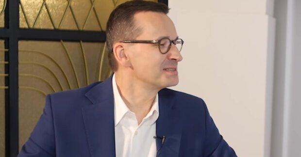 Mateusz Morawiecki. Źródło: Youtube