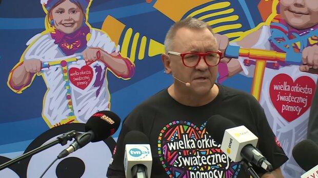 Jurek Owsiak. Źródło: Youtube Onet News
