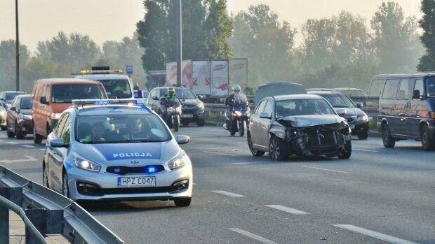 Wypadek, Warszawa