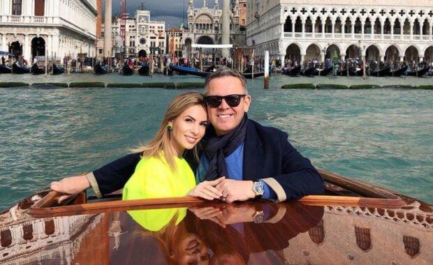 Izabela Janachowska z mężem. Źródło: YouTube