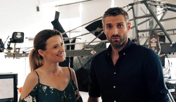 Maciej Dowbor i Joanna Koroniewska. Źródło: Youtube