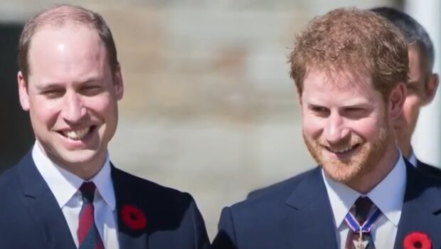 Książę William i Harry. Źródło: Youtube
