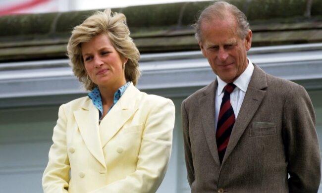 Książę Filip, Diana. Źródło: Youtube The Royal Family Channel