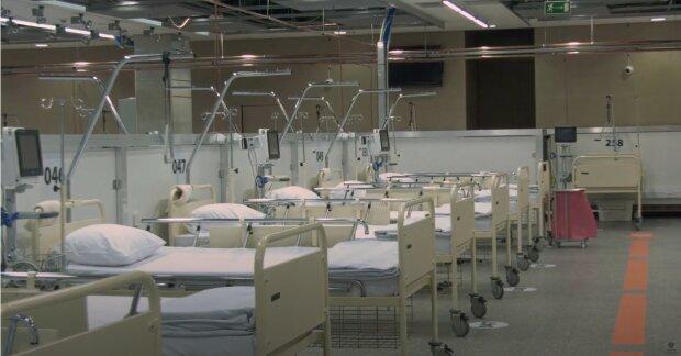 szpital tymczasowy, Stadion Narodowy fot. YT