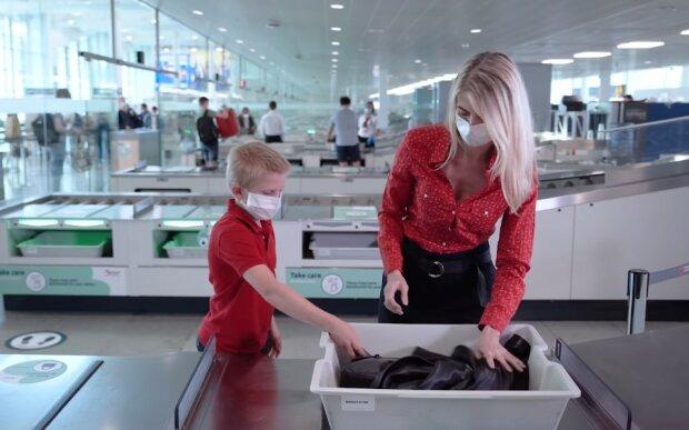 Zakaz lotów/screen Youtube @Brussels Airport