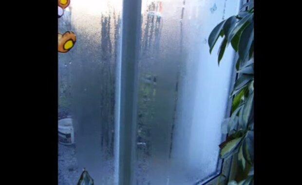 Parujące okno. Źródło: Youtube