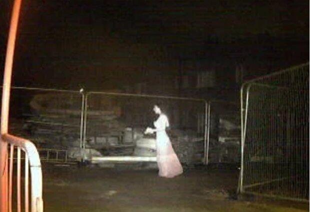 Przerażające zdjęcie z placu budowy w Birmingham