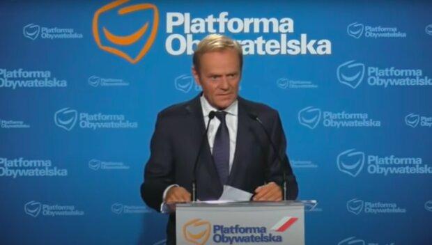 Donald Tusk / YouTube:  Janusz Jaskółka