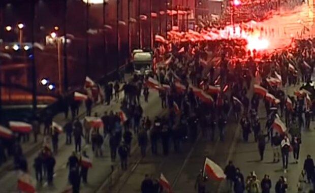 Marsz Niepodległości/ Screen YouTube