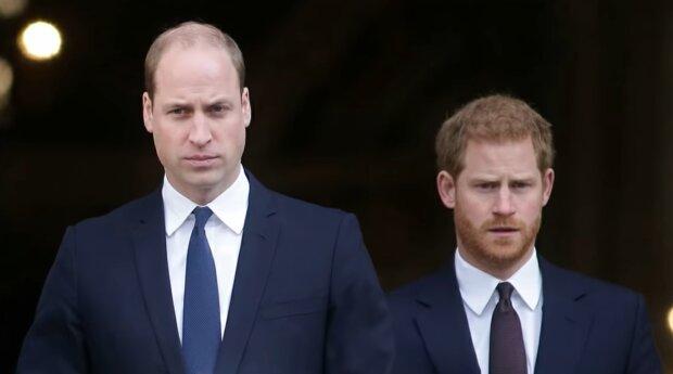 Książę William, Harry. Źródło: Youtube Royal Insider News