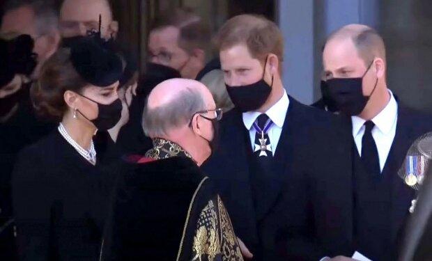 Kate, William, Harry/Youtube @news.com.au