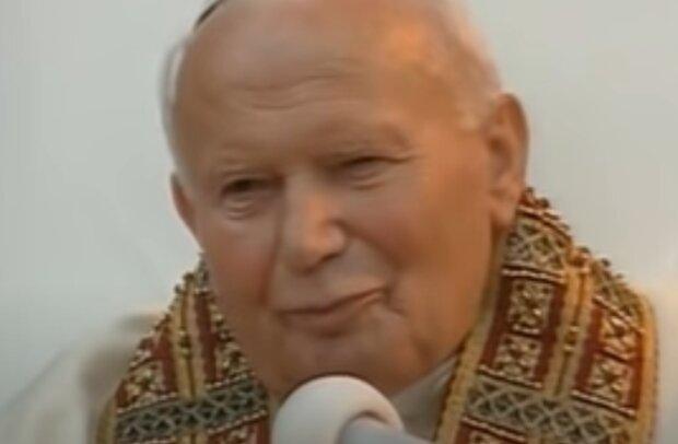 Jan Paweł II. Źródło: Youtube