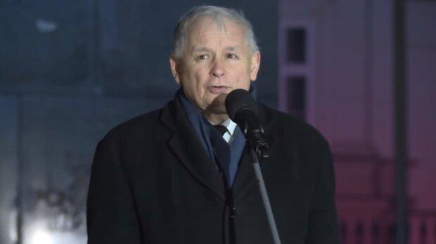 Jarosław Kaczyński. Źródło: Youtube Onet News