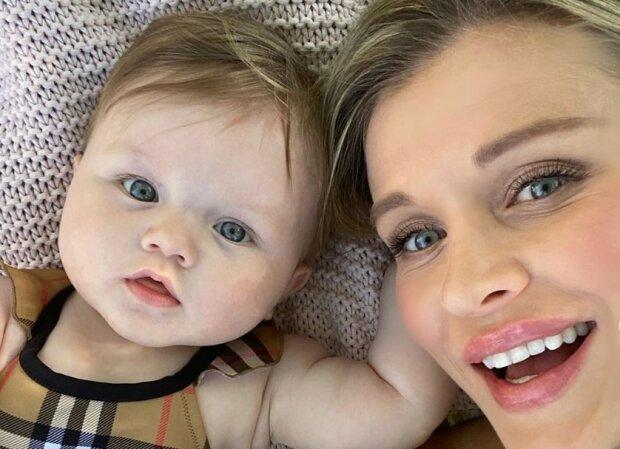 Joanna Krupa z córeczką/screen Instagram