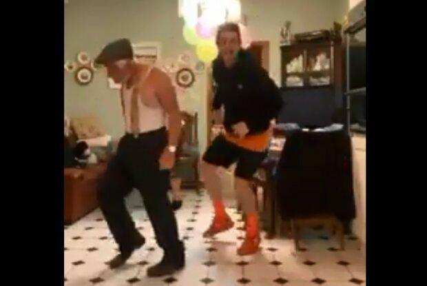 Zaskakujący rodzinny występ taneczny. Nagranie zachwyciło internautów