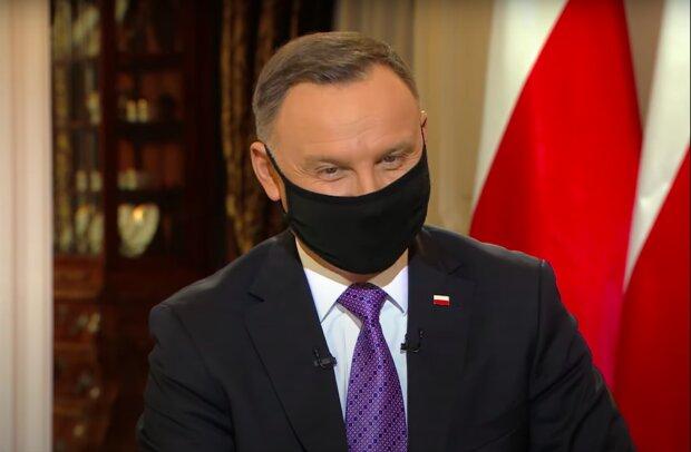 Prezydent Andrzej Duda / YouTube: polsatnews.pl