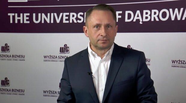 Kamil Durczok. Źródło: Youtube Akademia WSB
