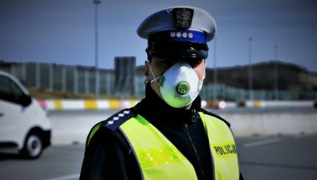 Koronawirus. Źródło: policja.pl