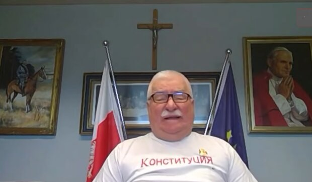 Lech Wałęsa/ YouTube @Super Express