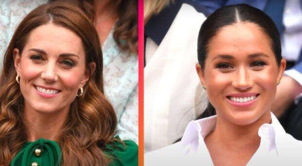 Meghan Markle i księżna Kate / YouTube: Entertainment Tonight