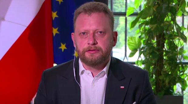 Minister Zdrowia Łukasz Szumowski / YouTube: Wirtualna Polska