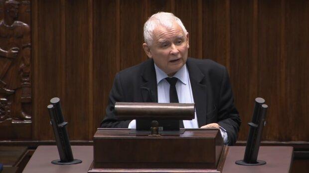 Jarosław Kaczyński. Źródło: Youtube Janusz Jaskółka