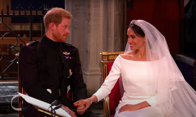 Meghan Markle i książęHarry / YouTube:   BBC