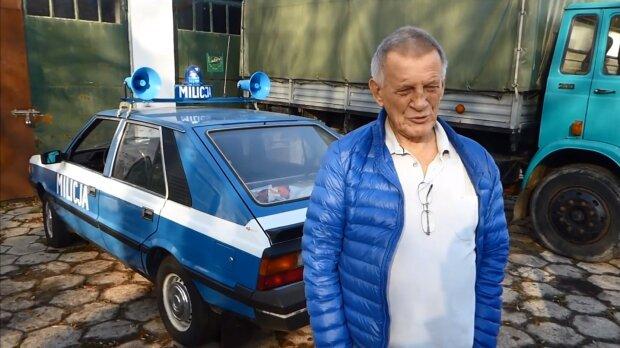 Bronisław Cieślak. Źródło: Youtube Samochody Graczyka