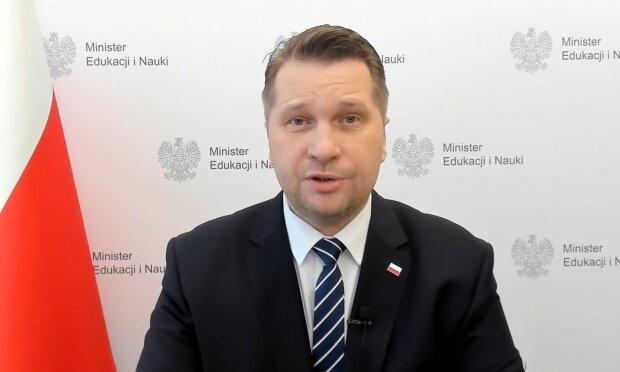 Przemysław Czarnek. Źródło: Youtube RMF24