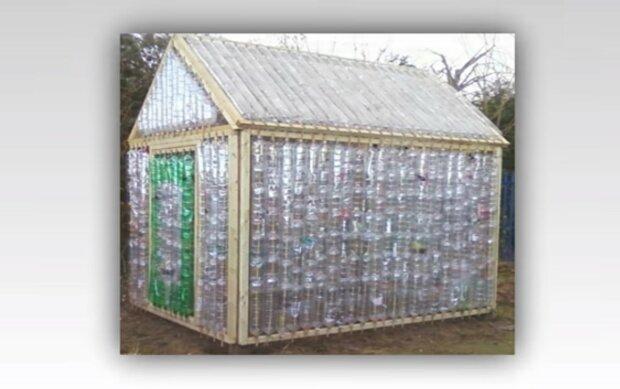 butelki plastikowe, screen YT