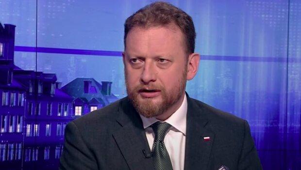 Minister Zdrowia Łukasz Szumowski / YouTube: TVP Info