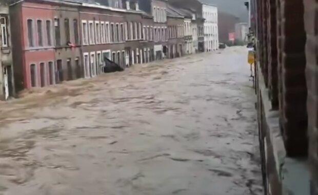 Niemcy, powódź/ screen yt