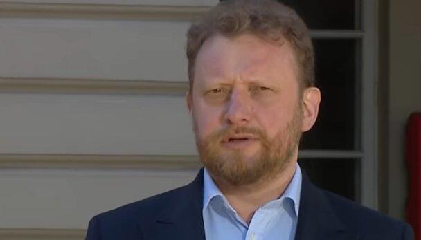 Minister zdrowia, Łukasz Szumowski. Źródło: Youtube