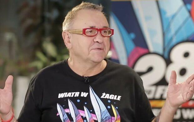 Jerzy Owsiak/screen Youtube @Onet News
