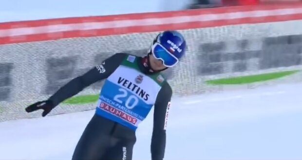 Skoki narciarskie/ screen YT