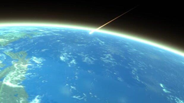 Asteroida. Źródło: Youtube