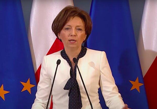 Minister Marlena Maląg / YouTube