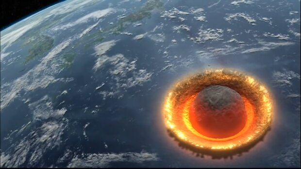 Asteroida. Źródło: Youtube Anselmo La Manna