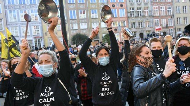 Strajk w Krakowie. Protesty już nie tylko Kobiet. Dołączyła branża gastronomiczna